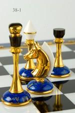 Вариант шахмат из лазурита